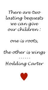 Quote On Bequests To Our Children