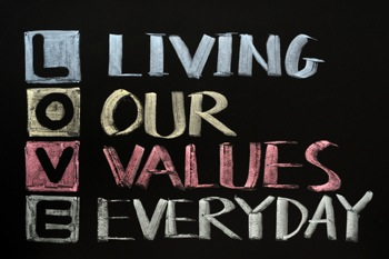 Living Our Values Daily - The Positive Parenting Centre