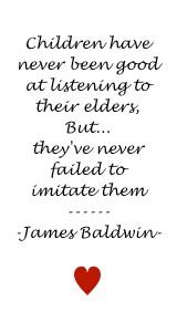 Quote On Children Modelling Elder