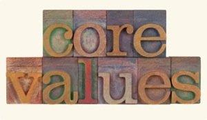 Core values bloc